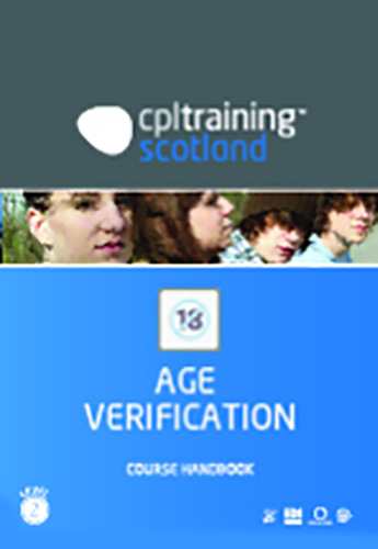 Age Verification Scotland Handbook cover
